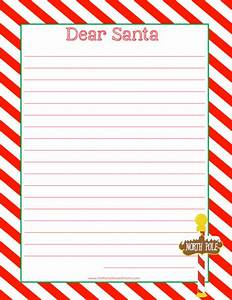 christmas themed crafts games activities for kids With paper to write letter to santa