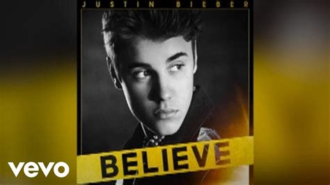 if you believe testo justin bieber thought of you audio