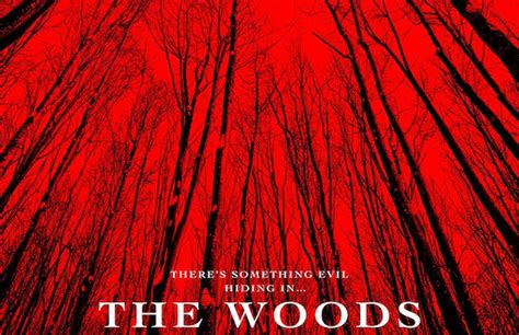 The Sky is Bleeding in This Poster For 'The Woods ...