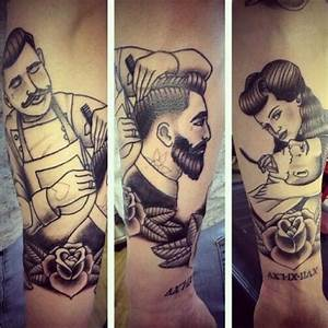 """True Gents and Rockabilly Barbering. Repost via ..."
