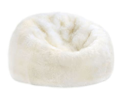 fibre by auskin sheepskin bean bag chair colors 3
