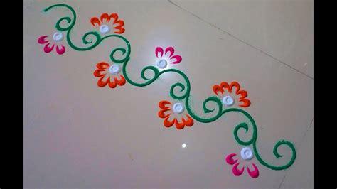 small rangoli design rangoli borderby deepika pant