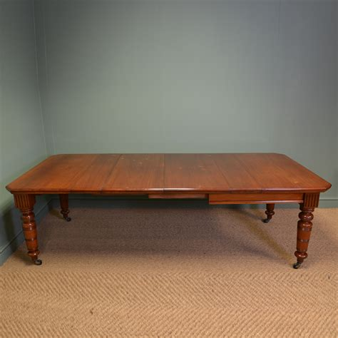 vintage walnut dining table large walnut antique extending dining table 6879