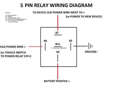 Simple Pin Relay Diagram Dsmtuners