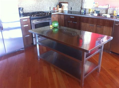 kitchen island legs metal stainless steel kitchen islands benefits that you must