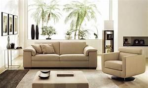deco in paris canape cuir beige 3 places romantica can With canapé 3 places cuir beige