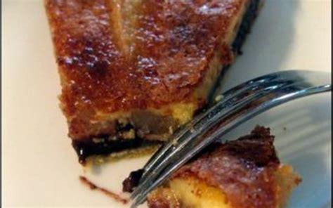 tarte au poire sans pate recette tarte poire chocolat 233 conomique et simple gt cuisine 201 tudiant