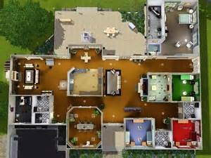 1 story floor plans mod the sims stately ranch