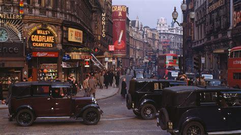 kodachrome street vintage classic car london
