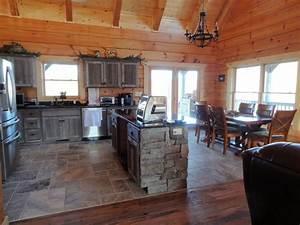 Weathered Gray Barn Wood Kitchen — Barn Wood Furniture