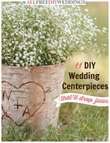 wedding ceremony programs diy 11 diy wedding centerpieces that 39 ll drop jaws