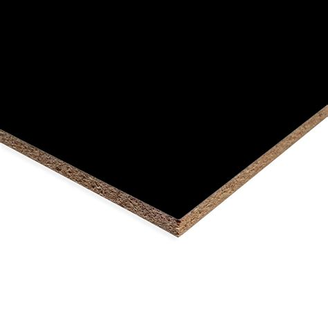 Melamine Window Sills by Black Pearl Melamine Chipboard Cut To Your Required