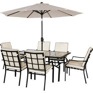 Buy Garden Table And Chairs by Buy Barcelona 6 Seater Patio Furniture Set At Argos Co Uk