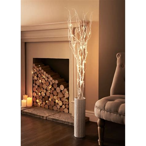 glitter branch led lights  home lighting bm