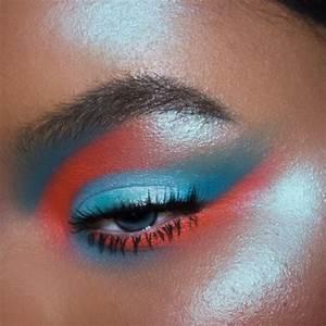 Viseart Editorial Brights Neon Eye Makeup Paperblog