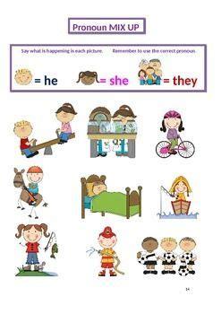 pronoun practice grammar  images pronouns