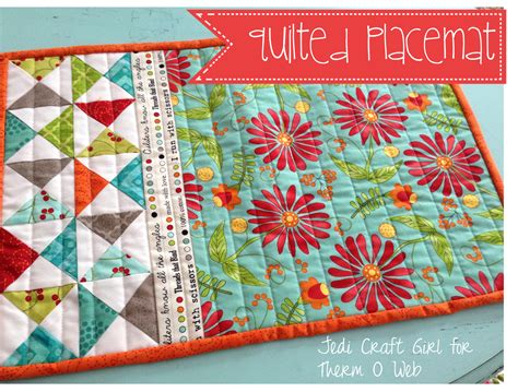 quilted placemats patterns sewing tutorials