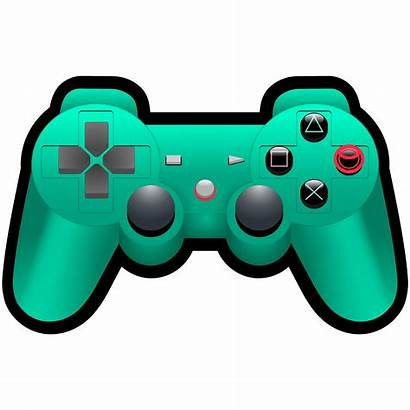 Controller Playstation Clipart Console Svg