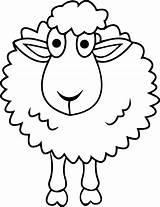 Sheep Coloring Pages Cartoon Shepherd Printable Shaun Drawings Bighorn Drawing Simple Minecraft Sheet Face Am Getcolorings Getdrawings Clipartmag Lamb Sheets sketch template