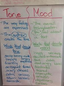 Tone And Mood Third Grade Anchor Charts Mood Anchor