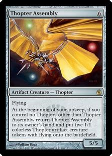 thopter deck magic duels thopter assembly magic card