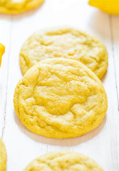 Here's what you need to make this recipe best cookies we ever had. Soft and Chewy Lemon Cookies - Averie Cooks