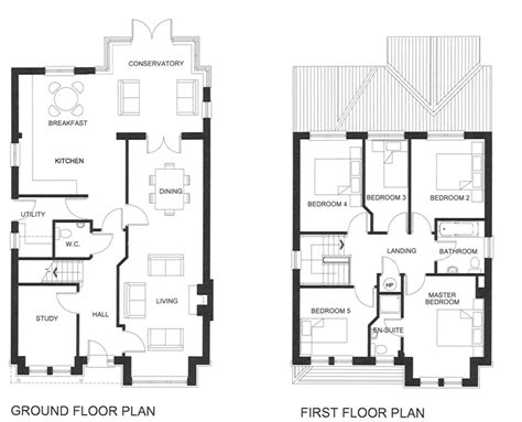 5 bedroom house plans 2 five bedroom house plans two unique house floor