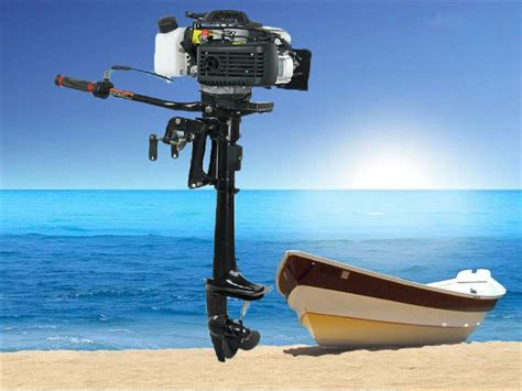 Boat Motors Air Cooled by Quality 4 Stroke 3 6hp Hangkai Outboard Motor Boat Engine
