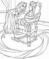 Tangled Coloring Pages Odd Dr sketch template