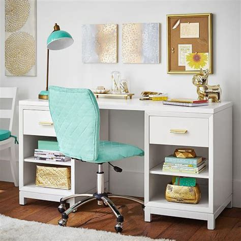 homework desk for bedroom white rowan cubby storage desk