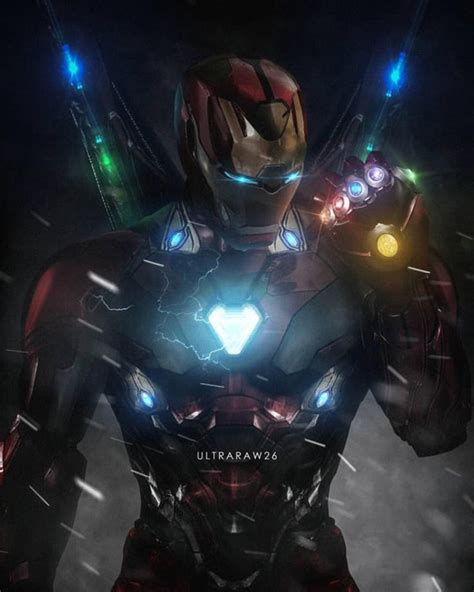 avengers infinity war  fan immagina  vedere iron man