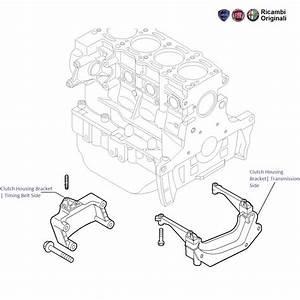 Fiat Punto 1 3 Mjd Diesel  Clutch Housing Bracket   Support