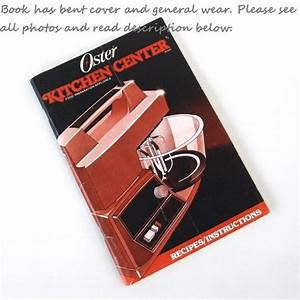 Oster Kitchen Center Instructions Owners Manual By