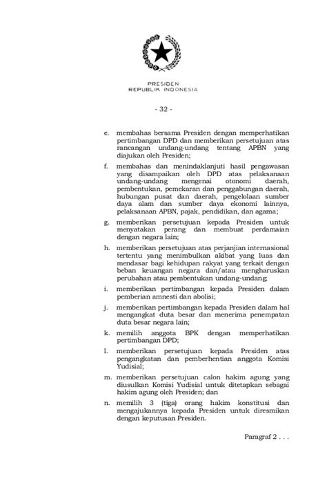 UU no 17 tahunn 2014 tentang MPR DPR DPD dan DPRD (MD3)