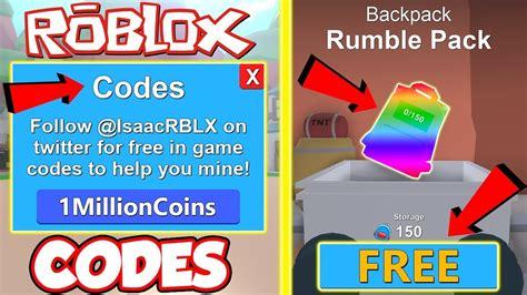 code   codes   insane backpack  roblox