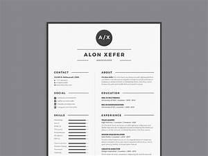 Free modern elegant resume template in multiple format for Elegant resume