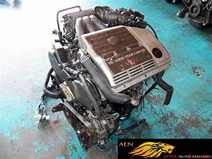 Toyota Estima 3 0l 4 Cam 24-valve V6 Engine With Wiring Rhd Jdm 1mz-fe Vvti   Lexus