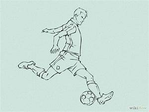 4 Ways to Draw Soccer Players - wikiHow