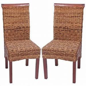 2x Chaise En Osier Banane Tresse Achat Vente Chaise