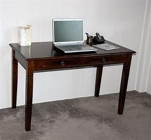 Pc Tisch Holz : schreibtisch computertisch pc tisch b rotisch braun kolonial massiv holz ~ Markanthonyermac.com Haus und Dekorationen