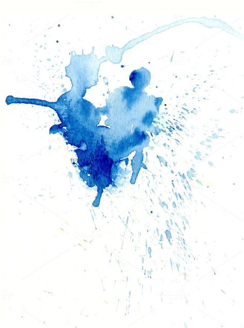 Check out Blue Watercolor Splash by mousemade photos on