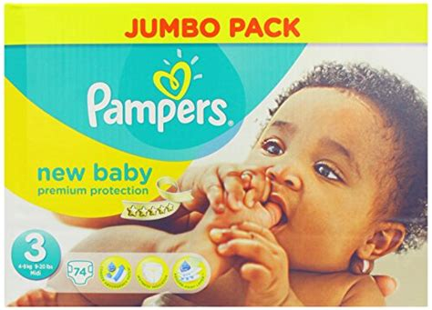 4015400424109 pers new baby size 3 midi jumbo pack 74 nappies