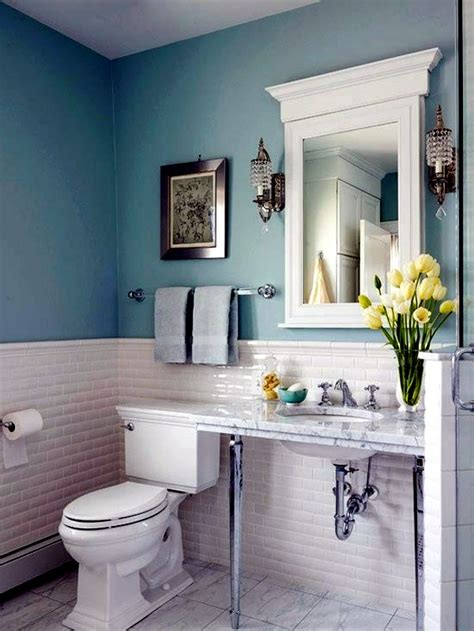 Ideas For Bathroom Colors by Bathroom Wall Color Fresh Ideas For Small Spaces