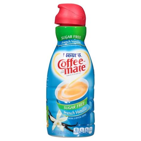 I should have just ordered the regular the powdered creamer is a better value than the liquid coffee mate creamer that you get in the refrigerated section of your grocery store. Coffee-Mate Sugar Free French Vanilla Creamer - 32oz : Target
