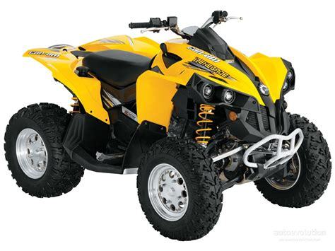 canap m can am brp renegade 500 specs 2006 2007 2008 2009
