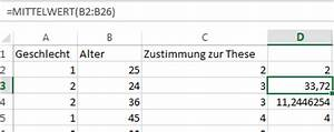 Mittelwert Berechnen Statistik : traue keiner excel statistik der tabellen experte ~ Themetempest.com Abrechnung