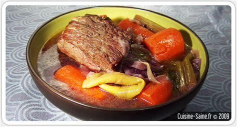 cuisine hiver recette d hiver pot au feu cuisine saine sans gluten sans lait
