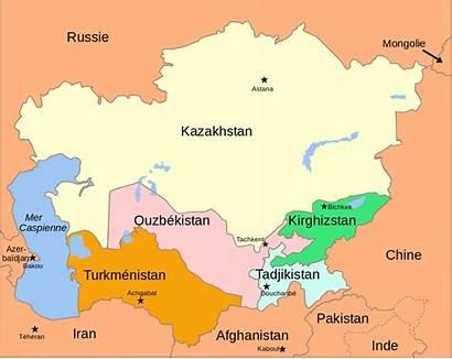 Asia Map Central Political Svg Fr 2008