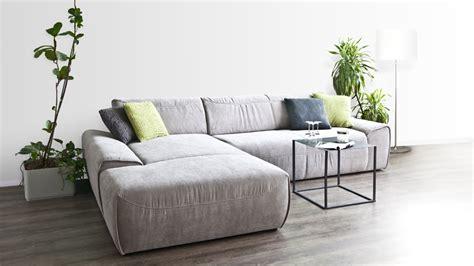Sofa Reinigung Designer Couch Sunrise Microfaser Linkes