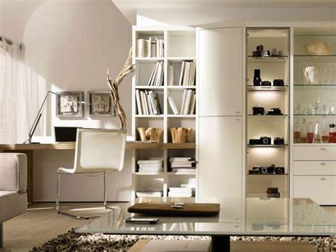 bureau de salon design aménager un coin bureau dans salon